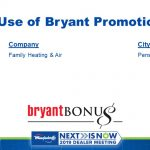 Best Use of Bryant Promotions Award