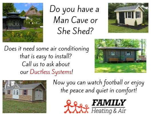 Do You Have a Man Cave or She Shed